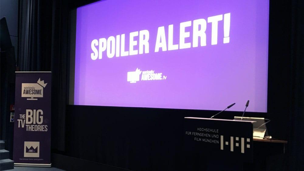 SERIENCAMP-Vortrag: SPOILER ALERT!
