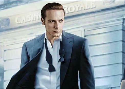 Outlander: Sam Heughan bringt sich als James Bond ins Gespräch