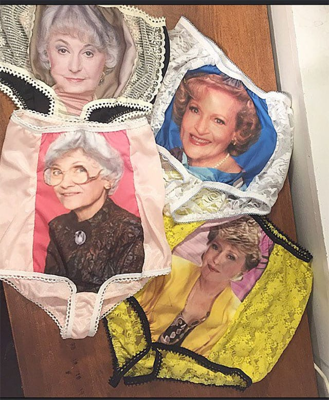 Golden Girls Panties