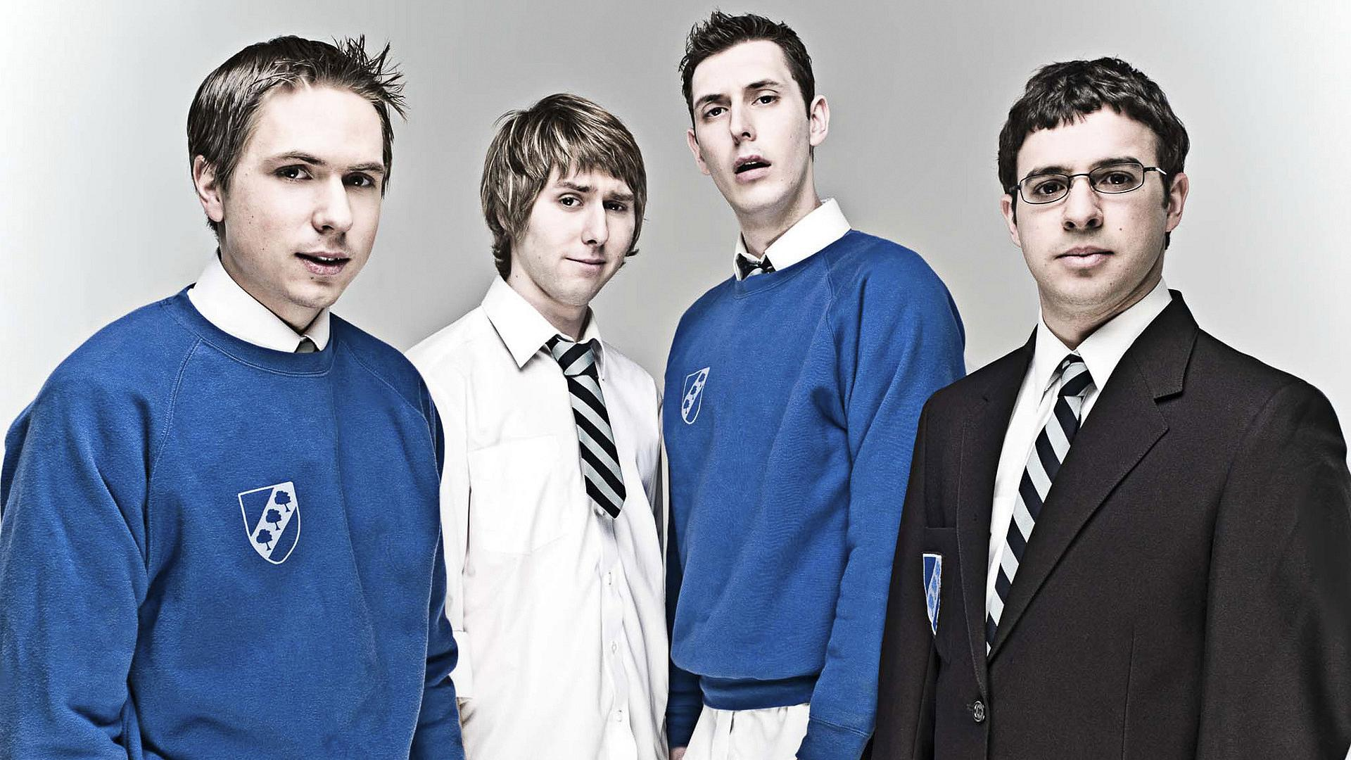 The Inbetweeners –Simon, Jay, Neil und Will © Channel 4