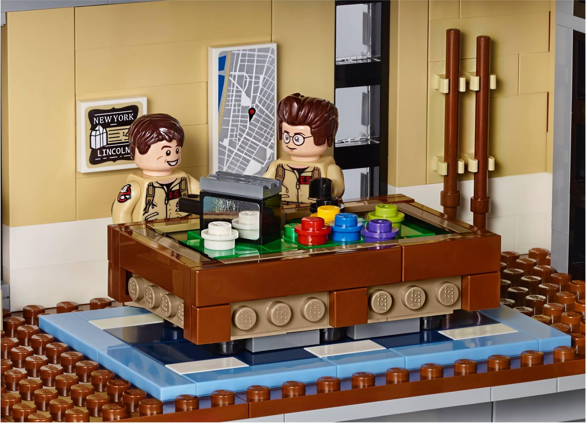 das lego ghostbusters hauptquartier kommt wer hat 349. Black Bedroom Furniture Sets. Home Design Ideas