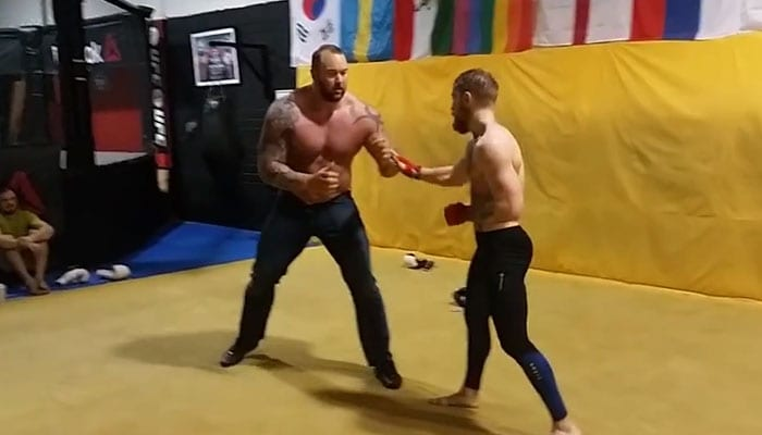 GoT: The Mountain does MMA