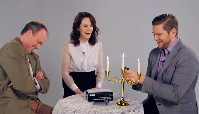 "Downton Abbey spielt ""Cards Against Humanity"""