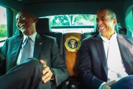 Obama zu Gast bei Seinfeld