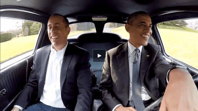 Barack Obama trifft Jerry Seinfeld – und es ist großartig