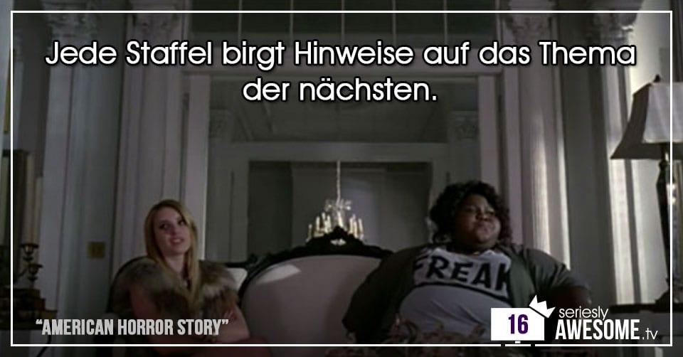 """Türchen 16: Unnützes Wissen zu """"American Horror Story"""""""