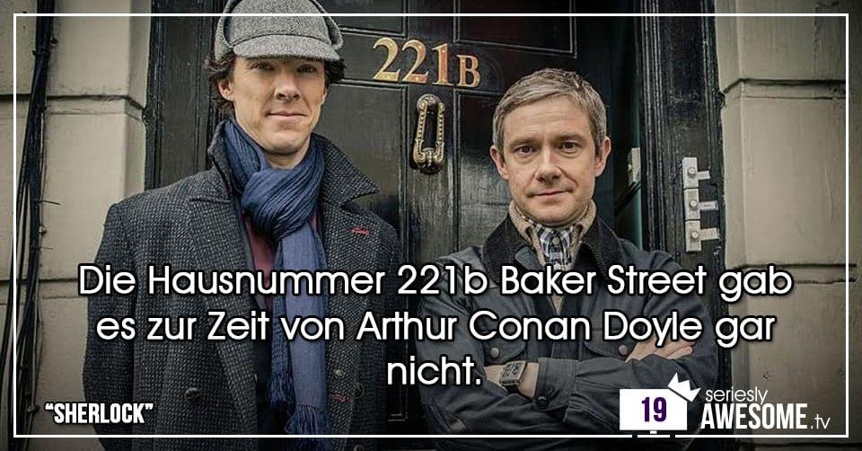 Türchen 19: investigative Fakten zu Sherlock
