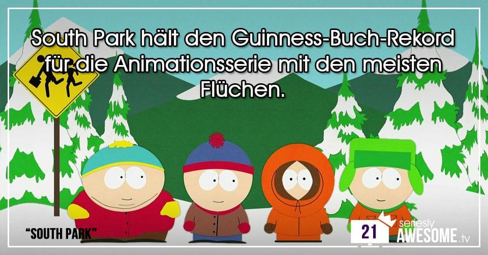 Türchen 21: Wirre Fakten zu South Park