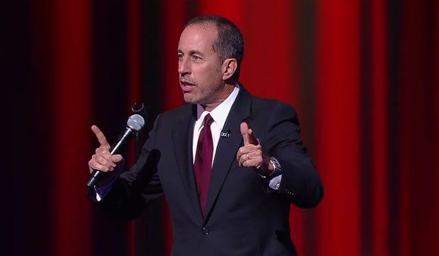 Jerry Seinfeld hat 5 Minuten Stand-up bei Colbert gemacht