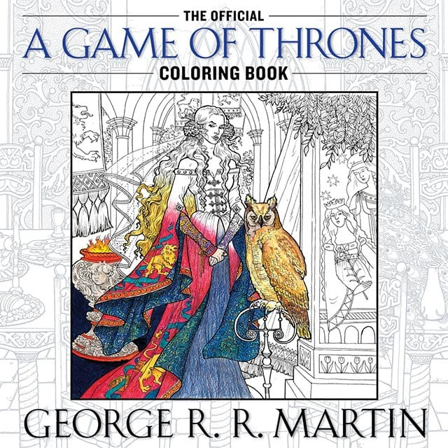 Das offizielle Game of Thrones-Malbuch - Zu den Buntstiften ...