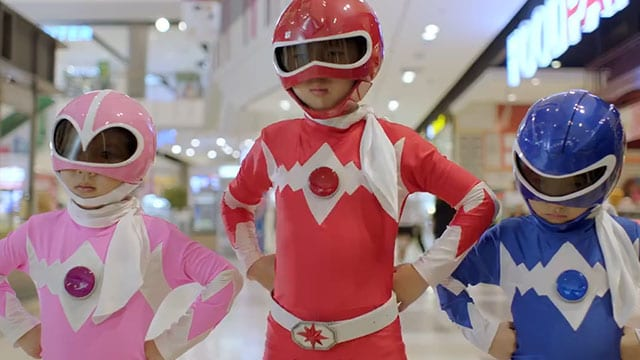 Mini Morphin Power Rangers