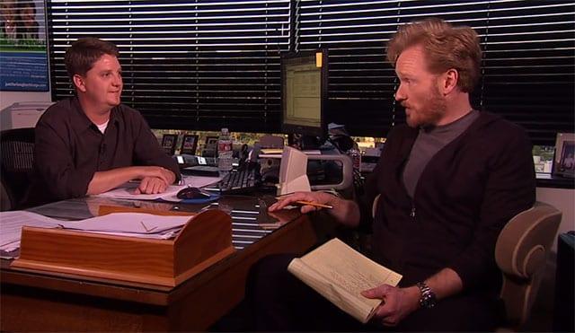 Conan trifft seinen Zensor