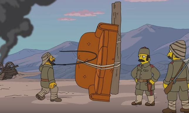 Simpsons Couch Gag: Die Couch haut ab