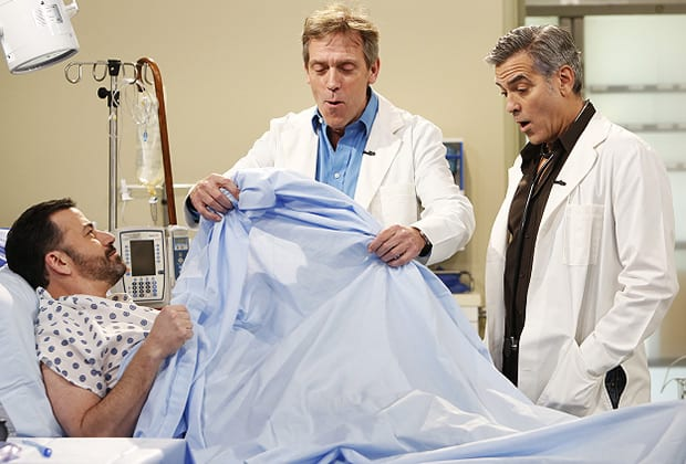 Emergency Room Cast Reunion mit George Clooney bei Jimmy Kimmel