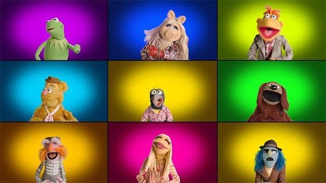 Die Muppets singen ihre Titelmelodie A Capella