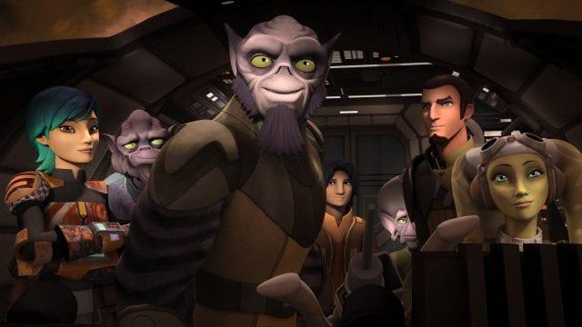 Zweite Staffel von STAR WARS REBELS im Disney Channel