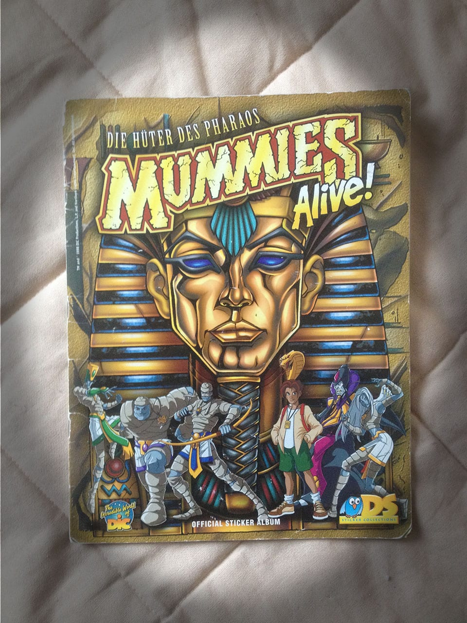 Mummies Alive! –Stickeralbum