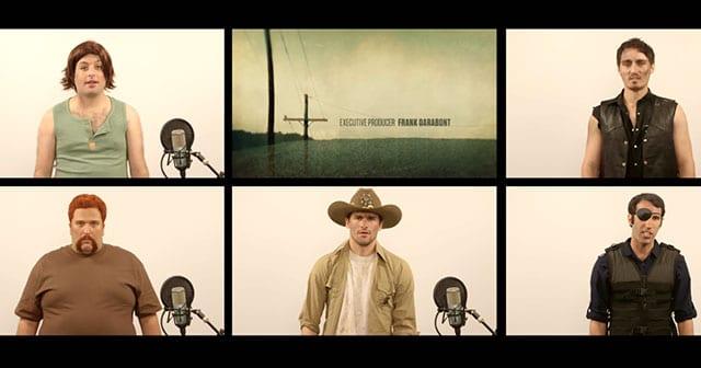 A capella The Walking Dead-Theme