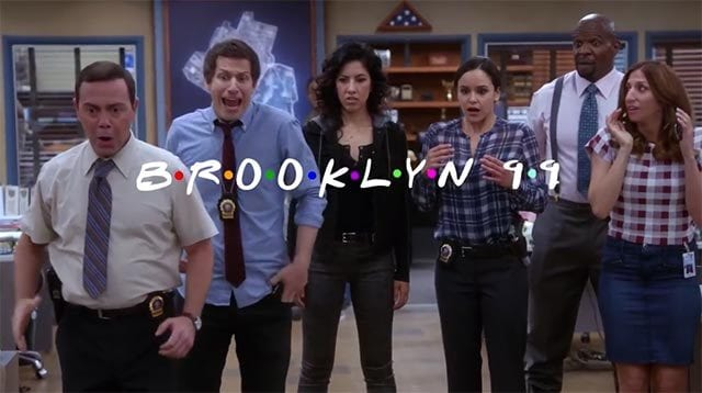 Brooklyn Nine-Nine-Intro im Friends-Stil