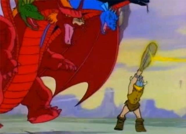Die 80er Dungeons & Dragons-Cartoonserie mit Spielleiterstimme
