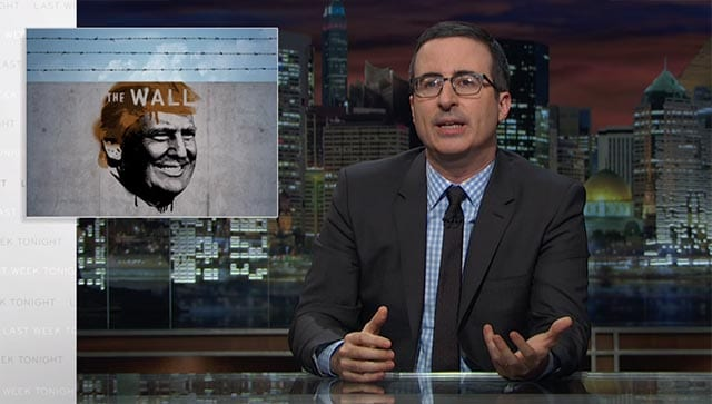 Last Week Tonight with John Oliver: Border Wall