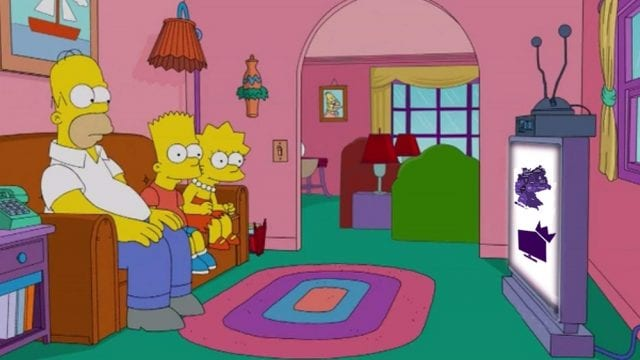 Serien Deutschlandkarte 2015 Simpsons