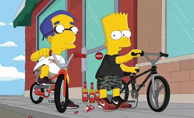 Sneakerhead Simpsons