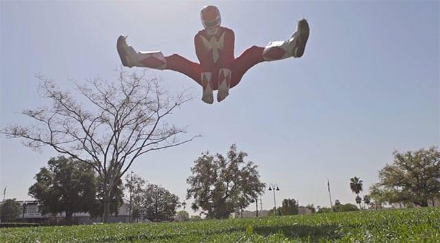 Power Ranger Parkour!