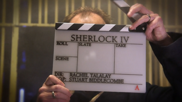 Sherlock: Mark Gatiss schlägt Filmklappe zu Staffel 4