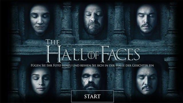 Game of Thrones – Dein Gesicht in der Hall of Faces