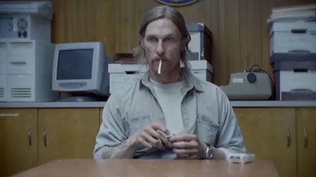 Supercut: Rust Cohle raucht