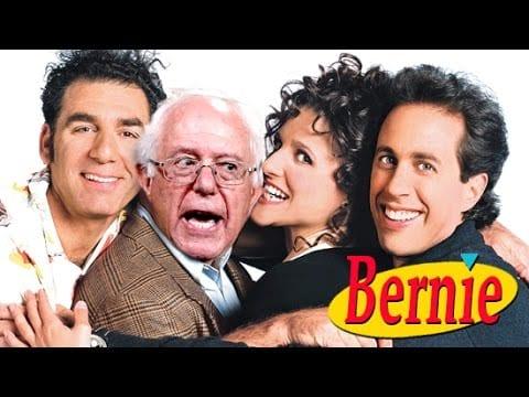 Bernie Sanders als George Costanza