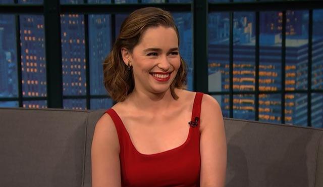 Emilia Clarke über ihr Dothraki-Schummeln