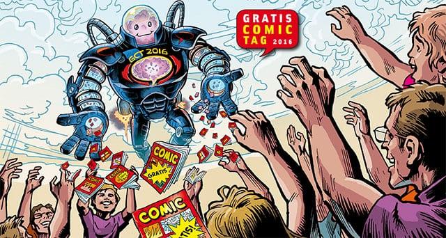 Gewinnt großes Comic-Paket zum Gratis Comic Tag 2016!