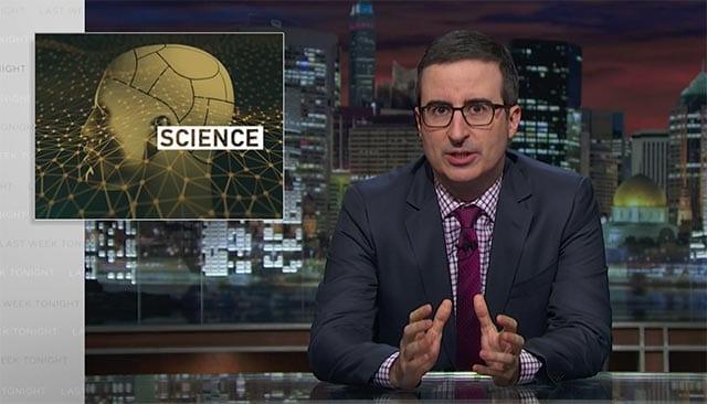 Last Week Tonight with John Oliver: Scientific Studies