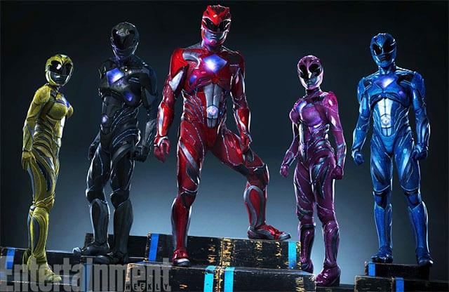 """So sehen die neuen """"Power Rangers"""" aus"""