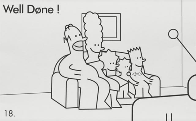 Simpsons-IKEA-Couch Gag