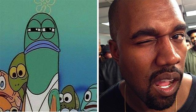 Spongebob meets Kanye West