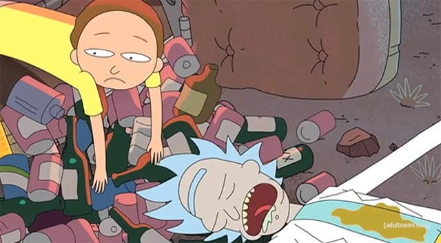 Rick & Morty singen Kendrick Lamar