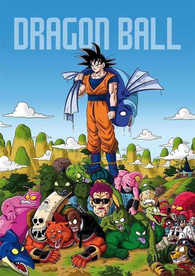 All Kills of Dragon Ball