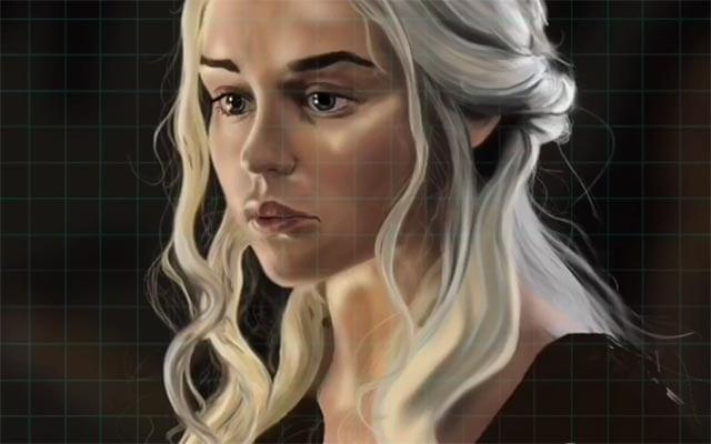 khaleesi-speedpainting