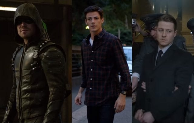 Neue Trailer zu Gotham, The Flash und Arrow