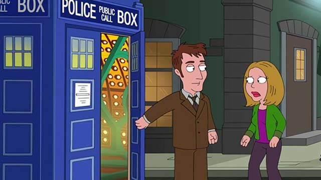Doctor Who zu Gast beim Family Guy