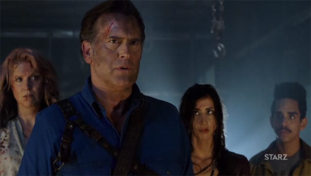 Ash vs Evil Dead: erster Trailer zur 2. Staffel