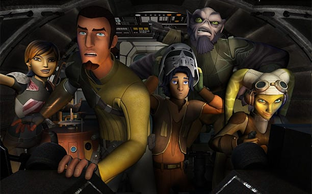 Star Wars Rebels Charakter in Rogue One Film