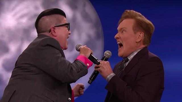 Lea Delaria und Conan O'Brien © TBS
