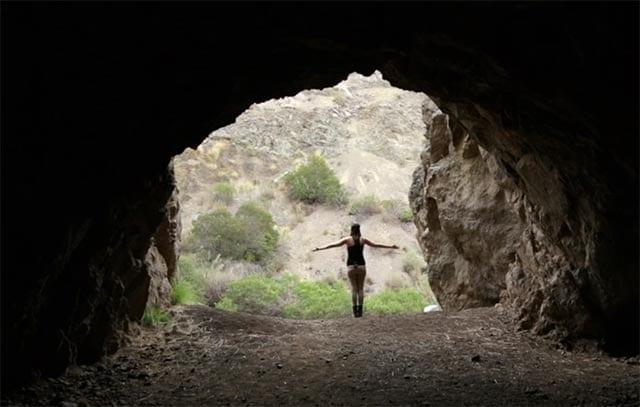 Zu Besuch in der originalen Bat Cave