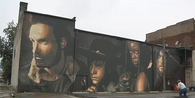 the-walking-dead-mural