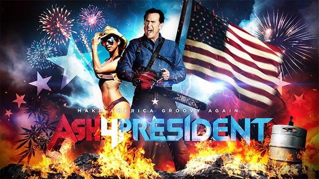 Ash vs. Evil Presidential Candidates