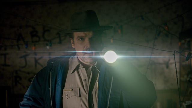Stranger Things – Sheriff Hopper © Netflix